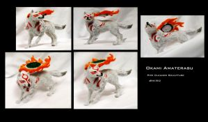 Pipe Cleaner Okami by afiriti