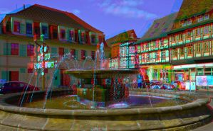 Quedlinburg III ::: Anaglyph HDR-3D by zour