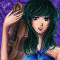 Sailor Neptune and Violin by AStudyInScarlet