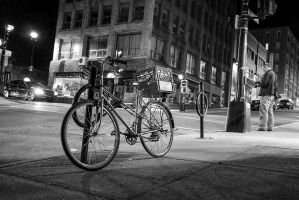 Halifax Street photography Delivery bike by KungFuGrid
