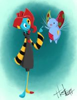 PatchBug by Hasaniwalker