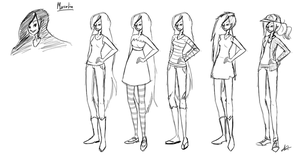 Marceline Outfit Study by Forever-Eternal