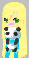 Vexen loves pandas by SparklingHoney-Q