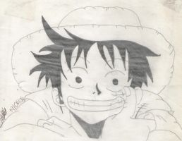 Monkey D. Luffy by StrawhatNicoRobin
