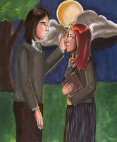 Lily and Severus by bachel60