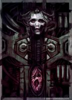 Giger Tribute Sketch by juhoham