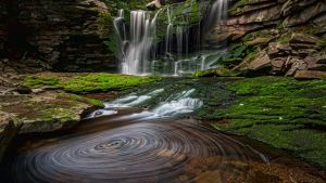 Elakala Waterfall#1 in Blackwater Falls State Park by BalochDesign