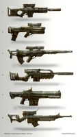 Assault Rifles by TomEdwardsConcepts