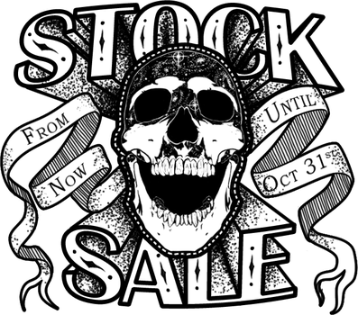 Skull Stock Sale until the end of October! - Ended by XeiArt