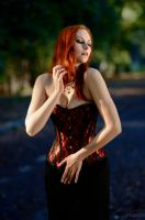 Gothic in Red [4] by Luin-Tinuviel
