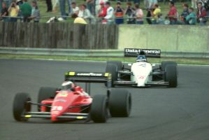 G. Berger | P. Streiff (Great Britain 1987) by F1-history