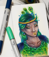 Peacock by CosmosKitty