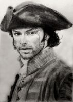 Aidan Turner as Poldark #3 by shuckaby