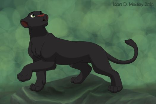 Black panther by dukacia