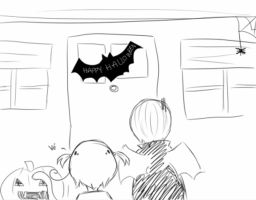 Trick or Treat Reaction by Ask-SanMarino