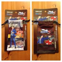 Ace Attorney Dual Destinies Drawstring Pouch by BenjaminHunter