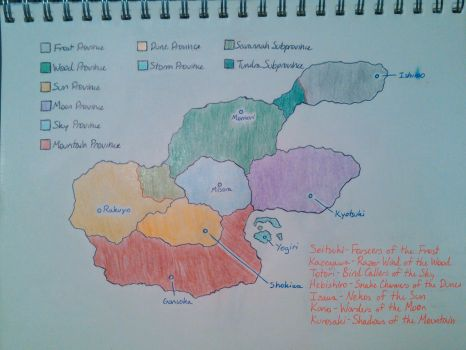 Sazuka's World Map by SazukaXDeidara4Ever