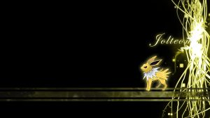 Jolteon Voltage Wallpaper by Wild-Espy