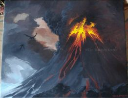 Mount Doom by HaughtyFlaki