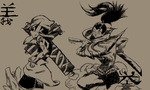 Yasuo and R-Senal by SSBBknuckles