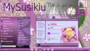 Tema Girl Morado TutosMysusikiur by TutosMysusikiur