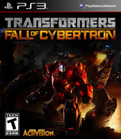 Transformers: Fall of Cybertron PS3 Boxart by BASTART-D3SIGN