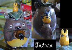 Totoro Teapot--Take 2 by dust8i8moth