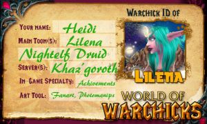 Warchick ID by lilena