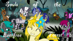Souls of the Everfree Forest Title Screen by TheEbby
