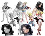 DC Women Watercolor and PS by taguiar