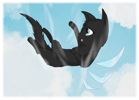 Flying High by NichigoTheCat