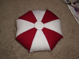 Umbrella Pillow Resident Evil by snowtigra