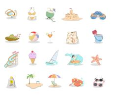 Icons Vector by CARFillustration