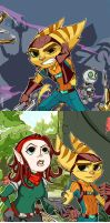 RatchetandClank-tumblr doodles part III by Ptit-Neko