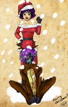 Zelame christmas by Inustein