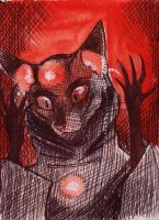 Crimson ACEO by xLossen