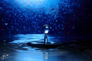 Anatomy Of A Water Drop - The Crescendo by CoreyEacret
