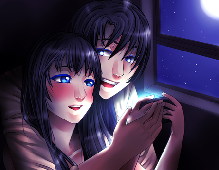 AS/MCL Armin and sucrette. Games night by CrazyNeko-Reset