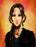 Katniss... by Art-Gem