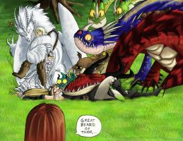 HTTYD Ireth+Vespera Fable35-36 by yamilink