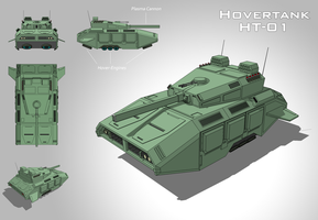 Hovertank HT-01 by vpRaptor