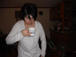 DN-Sugar moistened with coffee by LovelySilversky