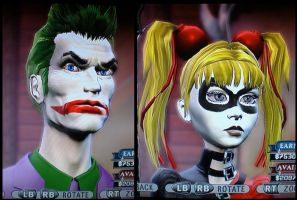 GH Joker and Harley by JWBeyond