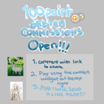 Cheap Sketch Comissions- open by KKSlider7