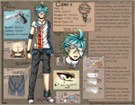Ref Sheet: Cael by whitty-boo