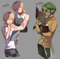 Mor And Luxo by re-11