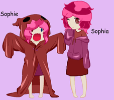 10 year old Sophie and Sophia(Twins!) by MintyMagic74