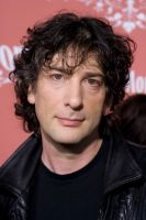 Neil Gaiman at Scream Awards by pinguino