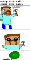 every minecraft comic evr made by OneFlyAssBandito