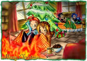 Keep The Christmas Warmth by Exarrdian